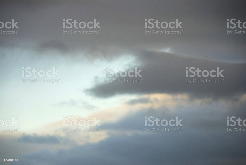 dark sky with a bright hole royalty-free stock photo