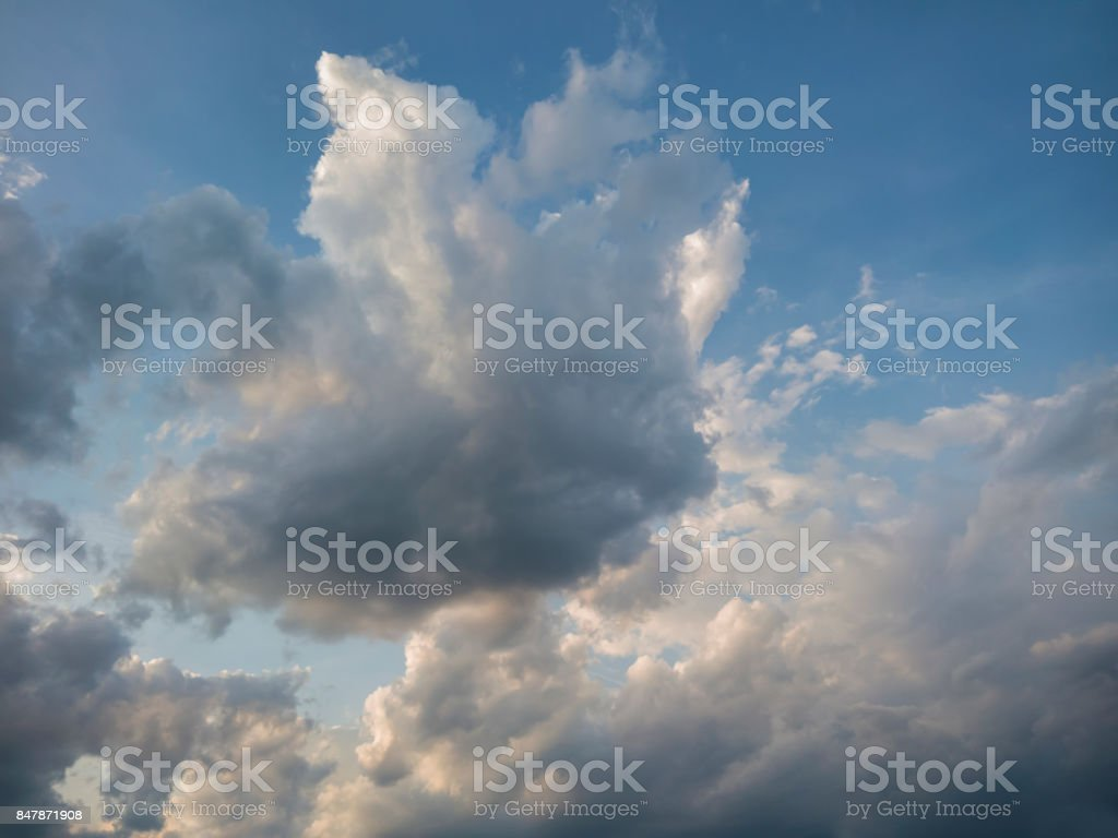 Dark Sky With Black Clouds Brings Storm Rain Stock Photo Download Image Now Istock