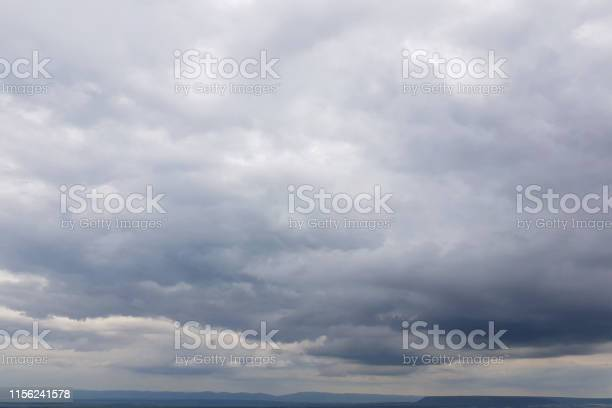 Photo of Dark sky with storm clouds
