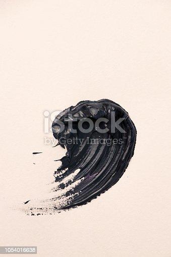 istock Dark smear of paint. 1054016638