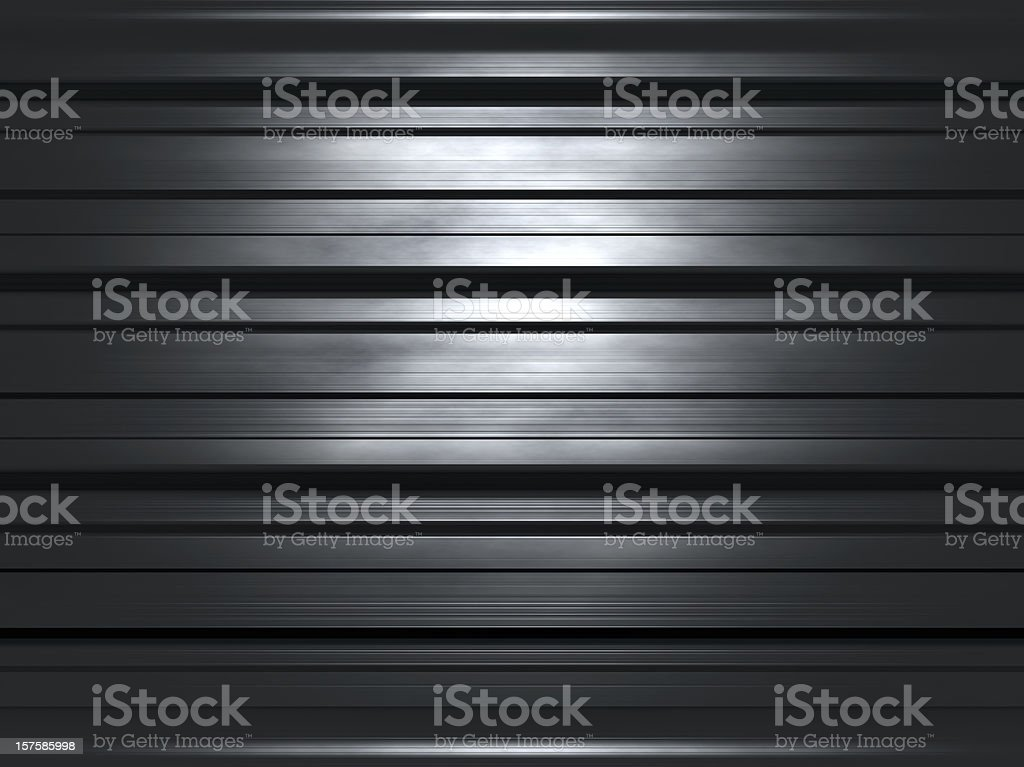 dark solid steelreflection royalty-free stock photo
