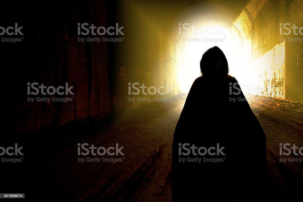 Dark Spirit stock photo