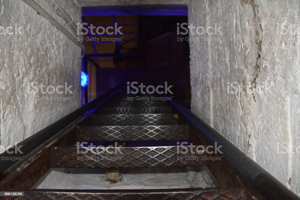 Dark stairs - Royalty-free Architecture Stock Photo