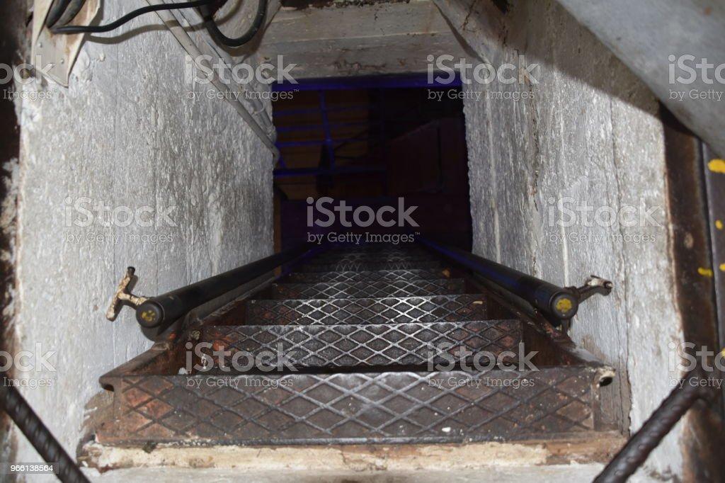 Dark stairs - Royalty-free Architecture Stock Photo