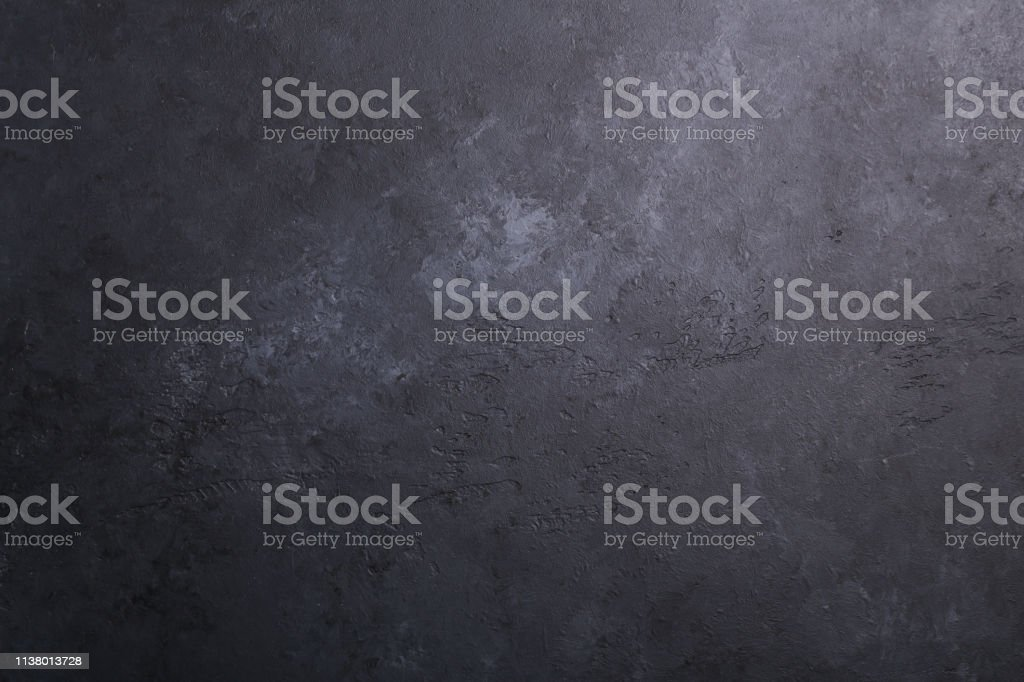 Dark stone texture background Copy space Flat lay - Royalty-free Abstrato Foto de stock