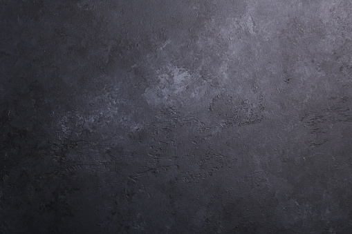 Dark stone texture background Copy space Flat lay