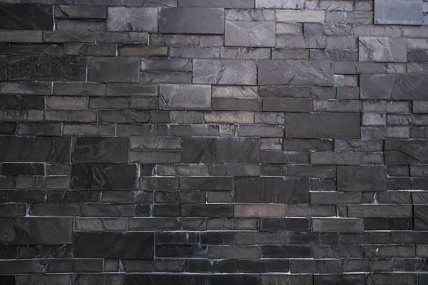 dark stone tile texture.  Dark stone tile texture stock photo Slate Wall Pictures Images and Stock Photos iStock