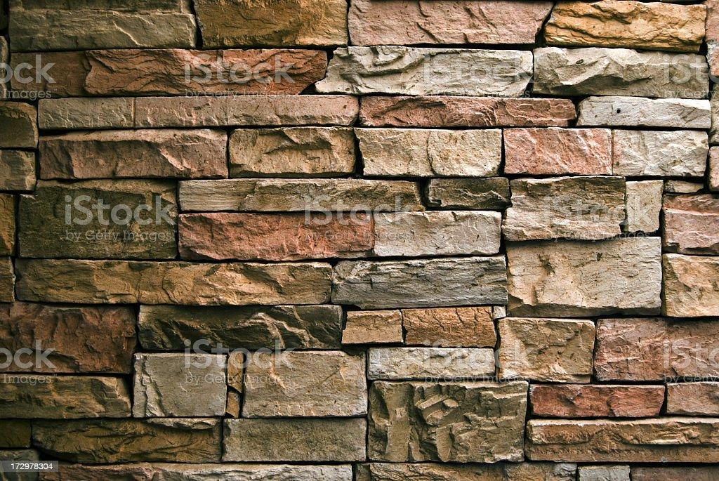 Dark Stone Wall royalty-free stock photo