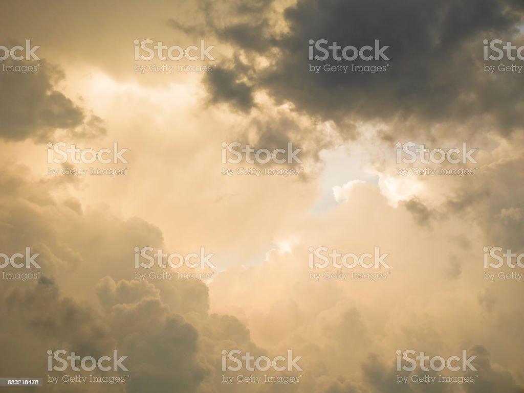 Dark storm cloud 免版稅 stock photo