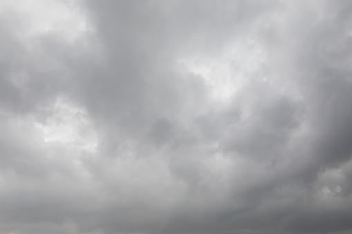 Dark stormy clouds for background