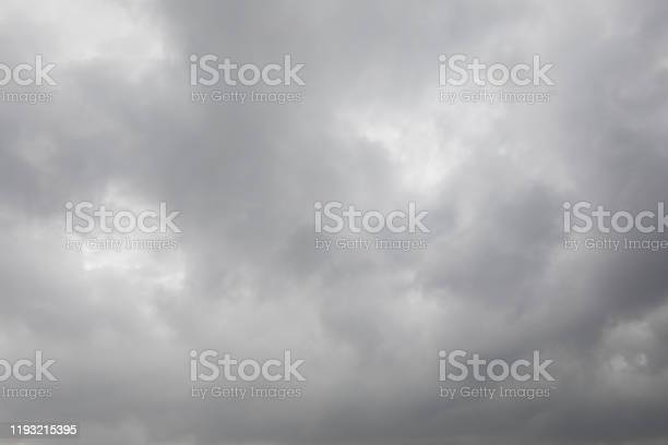 Photo of Dark stormy clouds for background