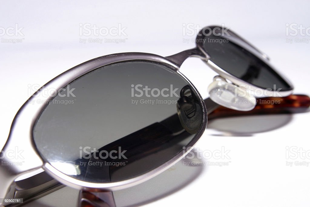 Dark sunglasses royalty-free stock photo
