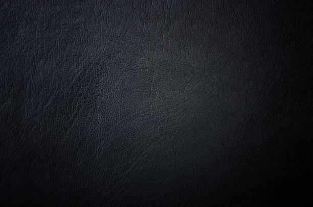 Dunkle grunge-Zerkratzt Leder Verwendung als Hintergrund. – Foto