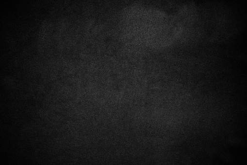 Close-up of a dark texture background of black fabric.
