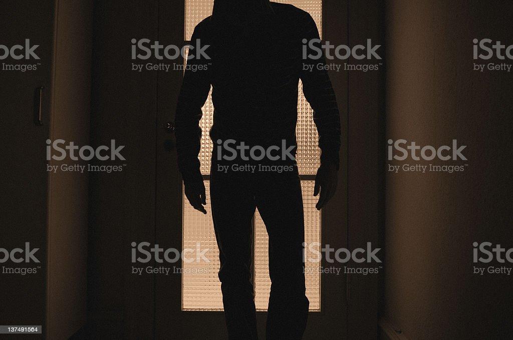 Dark Threat stock photo