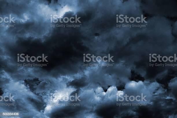 Photo of Dark Turbulent Storm Ominous Clouds