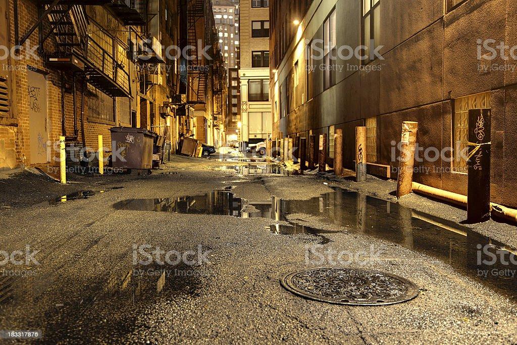 Dark Urban Road圖像檔