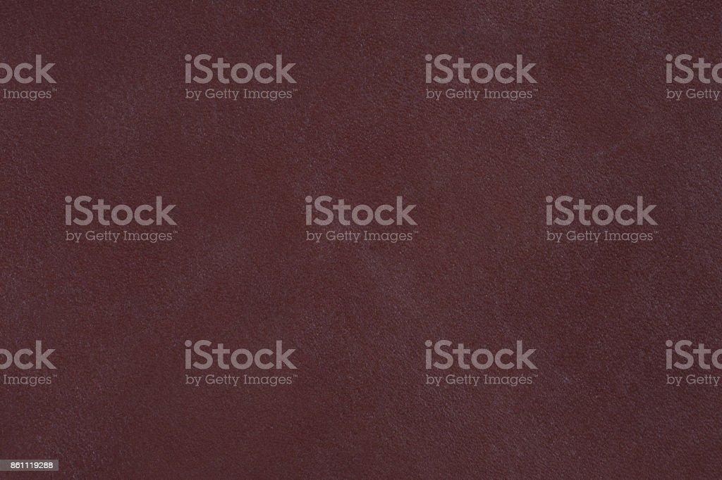 Dark vintage brown leather texture stock photo