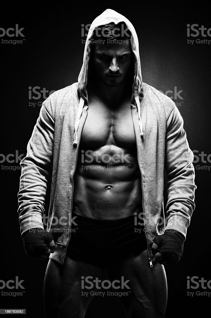 Dark Warrior stock photo