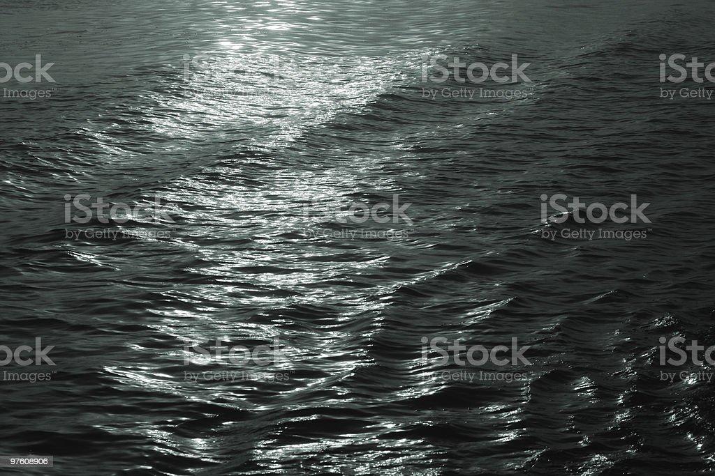 Dark water royalty-free stock photo