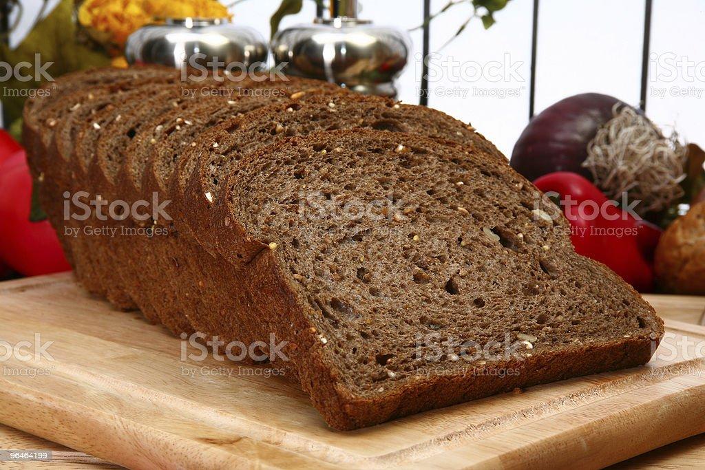 Dark Wheat Bread royalty-free stock photo