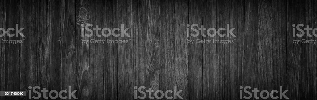 dark wood background, black texture pattern natural wooden planks стоковое фото
