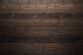istock Dark wood background brown color 626755782
