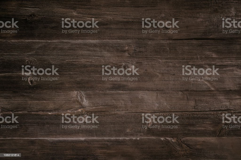 Donkere houten achtergrond - Royalty-free Achtergrond - Thema Stockfoto