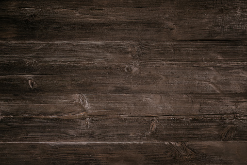 Dark wood background with copy space