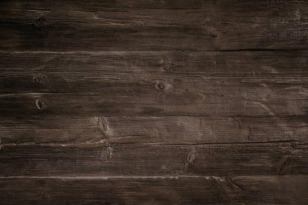 어두운 나무 배경 - 목재 재료 뉴스 사진 이미지