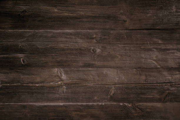 dark wood background - dark wood texture stock photos and pictures