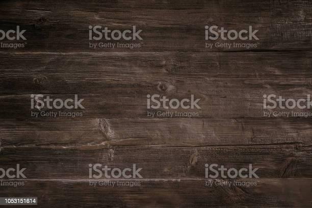 Photo of Dark wood background