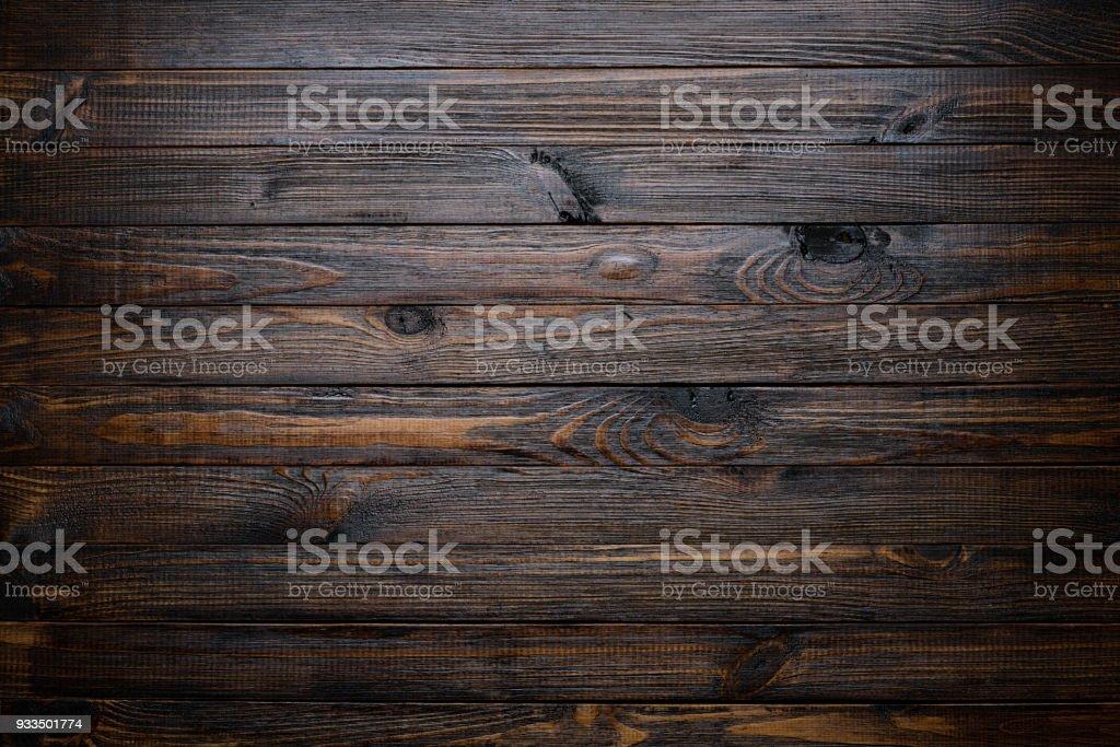 Dark wood background foto stock royalty-free
