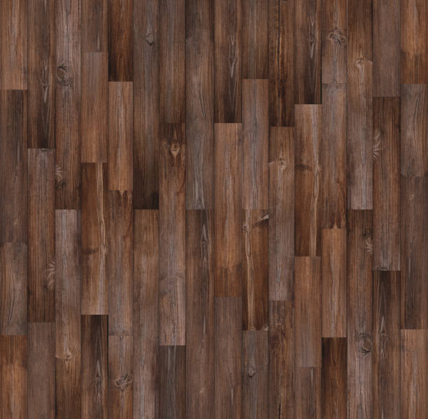 Dark Wood Floor Texture Background Seamless Wood Texture Stock Photo