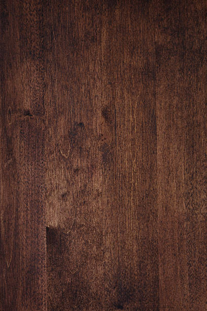 Dark wood grain texture stock photo