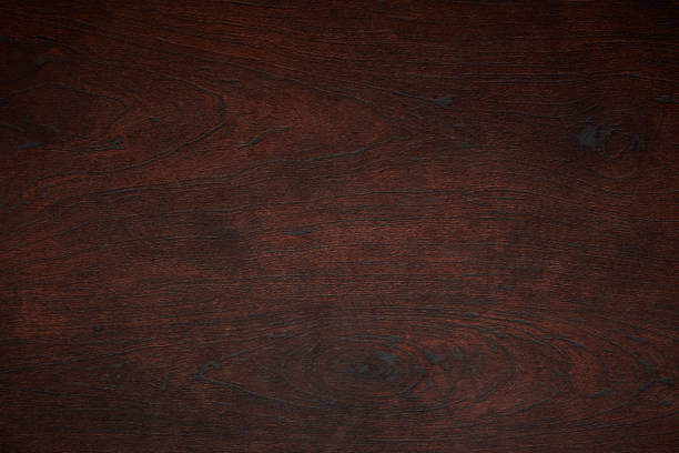 dark wood pattern texture - surface level stock photos and pictures