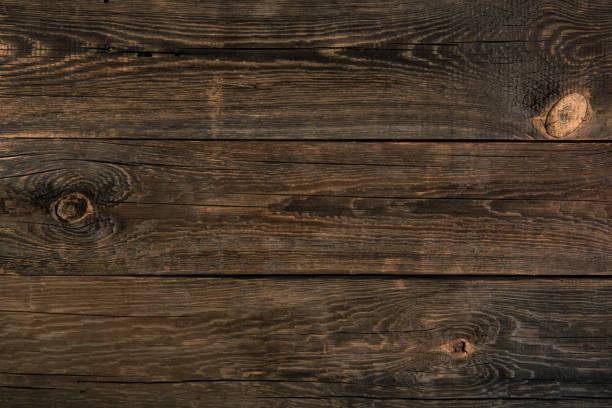 dunkle Holztextur. Hintergrund alte dunkle Paneele. – Foto