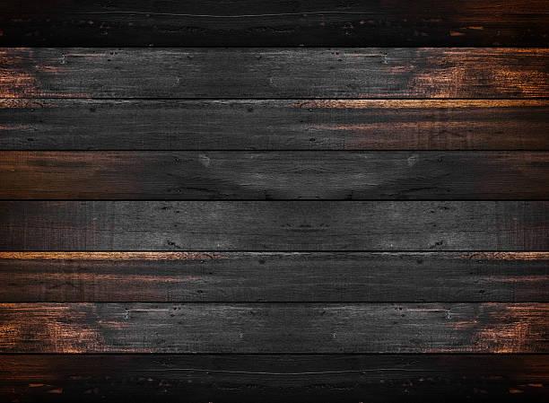dunkle holz textur - walnussholz stock-fotos und bilder