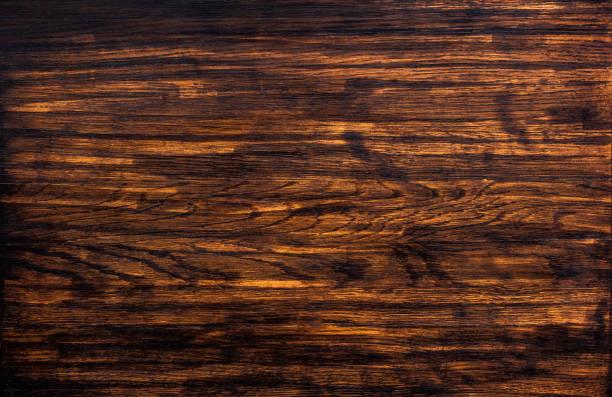 dunkle holz textur  - wärmeplatte stock-fotos und bilder