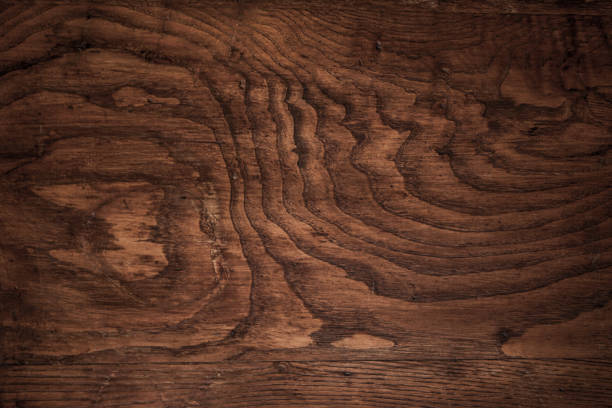 dark wood texture - wood grain texture stock photos and pictures