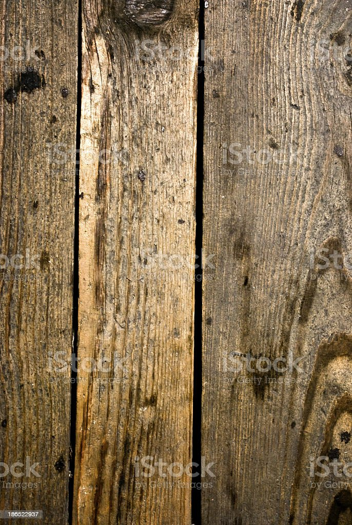 Dark wooden grunge floor planks background or texture royalty-free stock photo