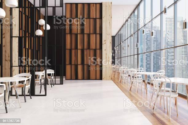 Dark wooden panoramic cafe interior picture id941282736?b=1&k=6&m=941282736&s=612x612&h=suy7jjhbei3x 9ljlzibffsltahzzwkszfloojsa4kk=