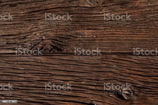 Mörkt Trä Plankor Närbild Bakgrund-foton och fler bilder på Abstrakt