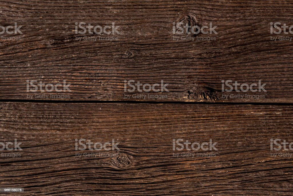 Donkere houten planken close-up achtergrond - Royalty-free Abstract Stockfoto