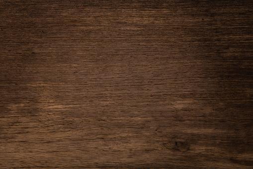 Dark wooden texture background. Abstract wood floor.