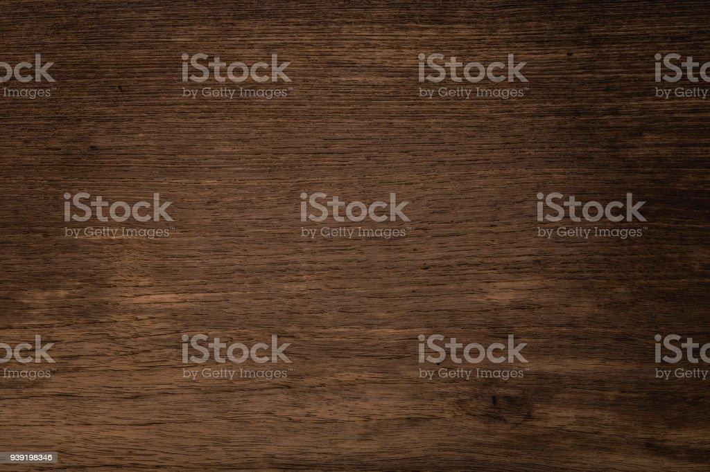 Dark Wooden Texture Background. Abstract Wood Floor. Stock Photo