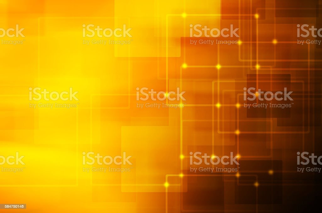 dark yellow technology background stock photo