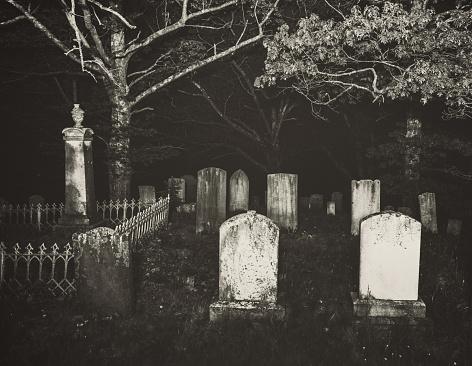Darkened Graves