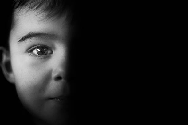 darkness - child abuse stock pictures, royalty-free photos & images