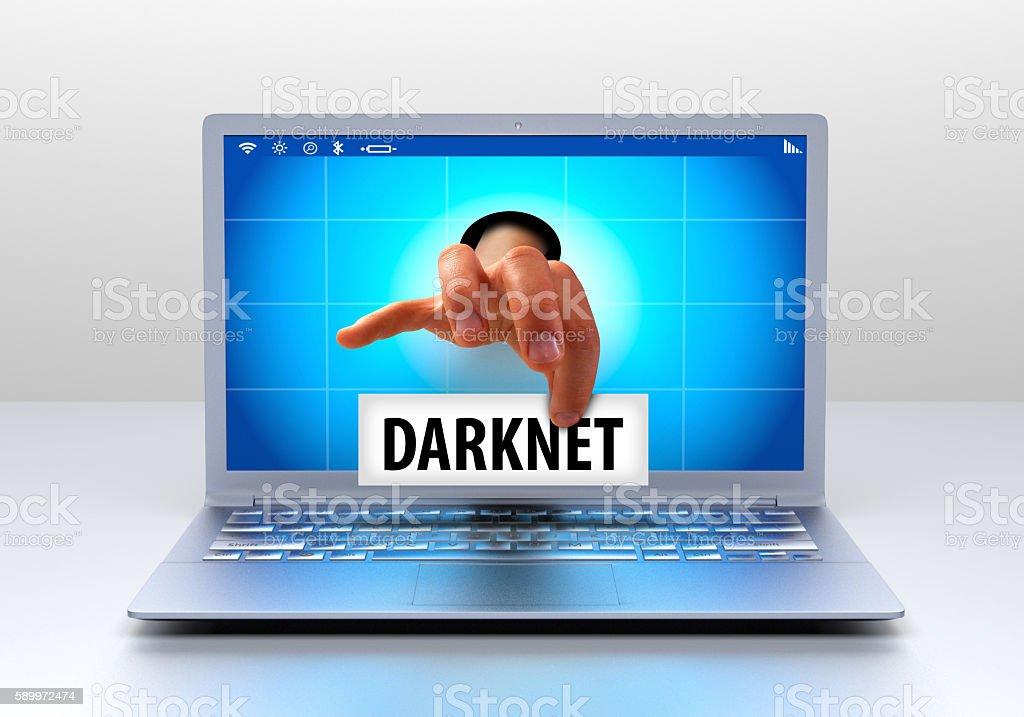 Darknet stock photo